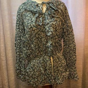 Gorgeous Nine West plus size blouse